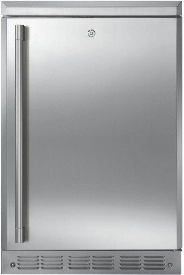 Monogram 5.4 Cu. Ft. Stainless Steel Outdoor/Indoor Refrigerator-ZDOD240NSS