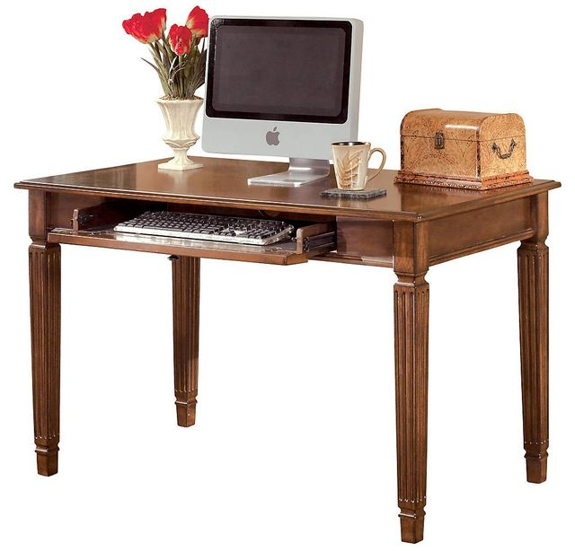 "Signature Design by Ashley® Hamlyn Medium Brown 48"" Office Desk-H527-10"