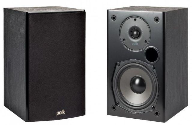 "Polk Audio® T15 Black 5.25"" Bookshelf Speaker (Pair)-AM1565"