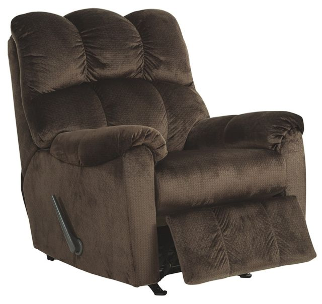 Fauteuil berçant inclinable Foxfield, brun, Signature Design by Ashley®-1040225