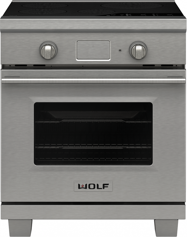 """Wolf® Transitional 30"""" Stainless Steel Induction Range-IR304TE/S/TH"""