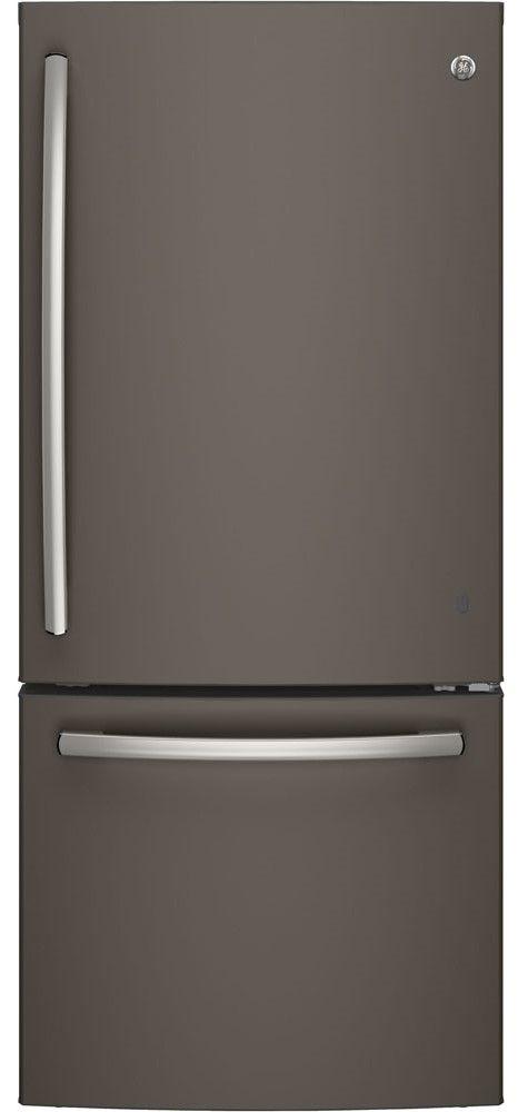Réfrigérateur à congélateur inférieur de 30 po GE® de 20,9 pi³ - Ardoise-GDE21DMKES