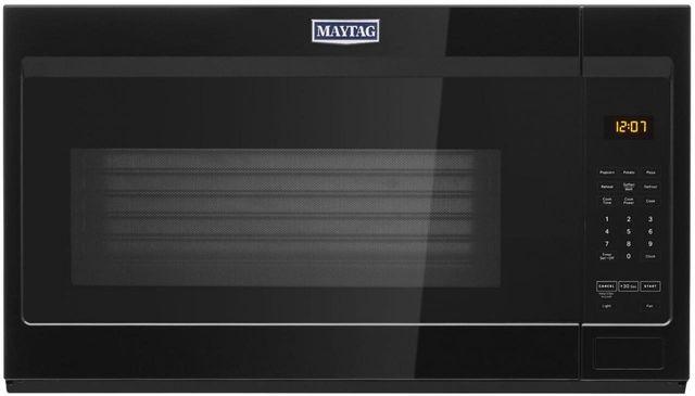 Maytag® 1.9 Cu. Ft. Black Over The Range Microwave-MMV1175JB