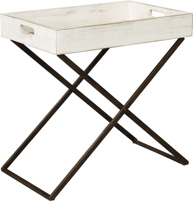 Signature Design by Ashley® Janfield Antique White Accent Table-A4000110