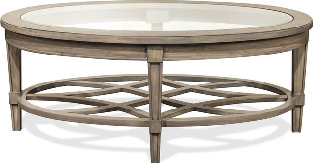 Riverside Furniture Parkdale Oval Coffee Table-15501