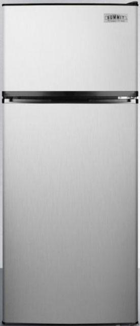 Summit® 10.3 Cu. Ft. Top Freezer Refrigerator-Stainless Steel-FF1159SS