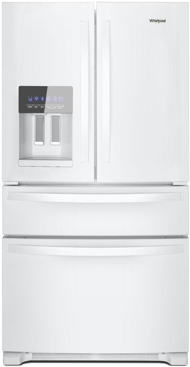 Whirlpool® 25 Cu. Ft. Wide French Door Refrigerator-White-WRX735SDHW