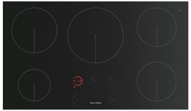 """Fisher & Paykel 36"""" Induction Cooktop-Black-CI365DTB1"""