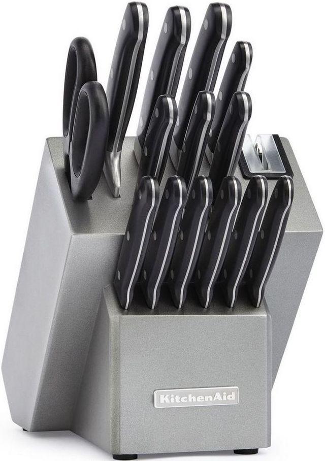 KitchenAid® Classic Forged 16-Piece Silver Cutlery Set-KKFTR16SL