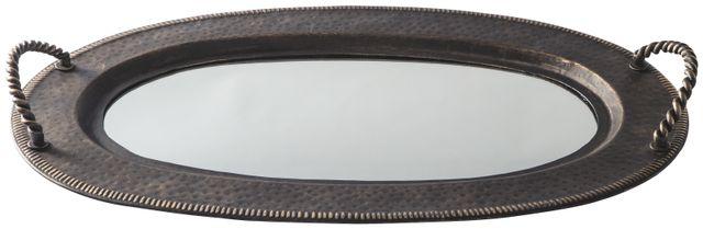 Signature Design by Ashley® Milena Antique Gold Tray-A2000377