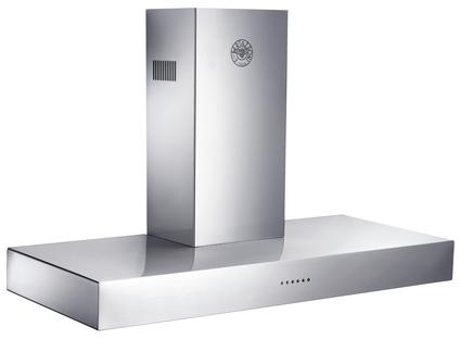 "Bertazzoni Design Series 48"" Wall Mount Hood Ventilation-Stainless Steel-K48CONX14"