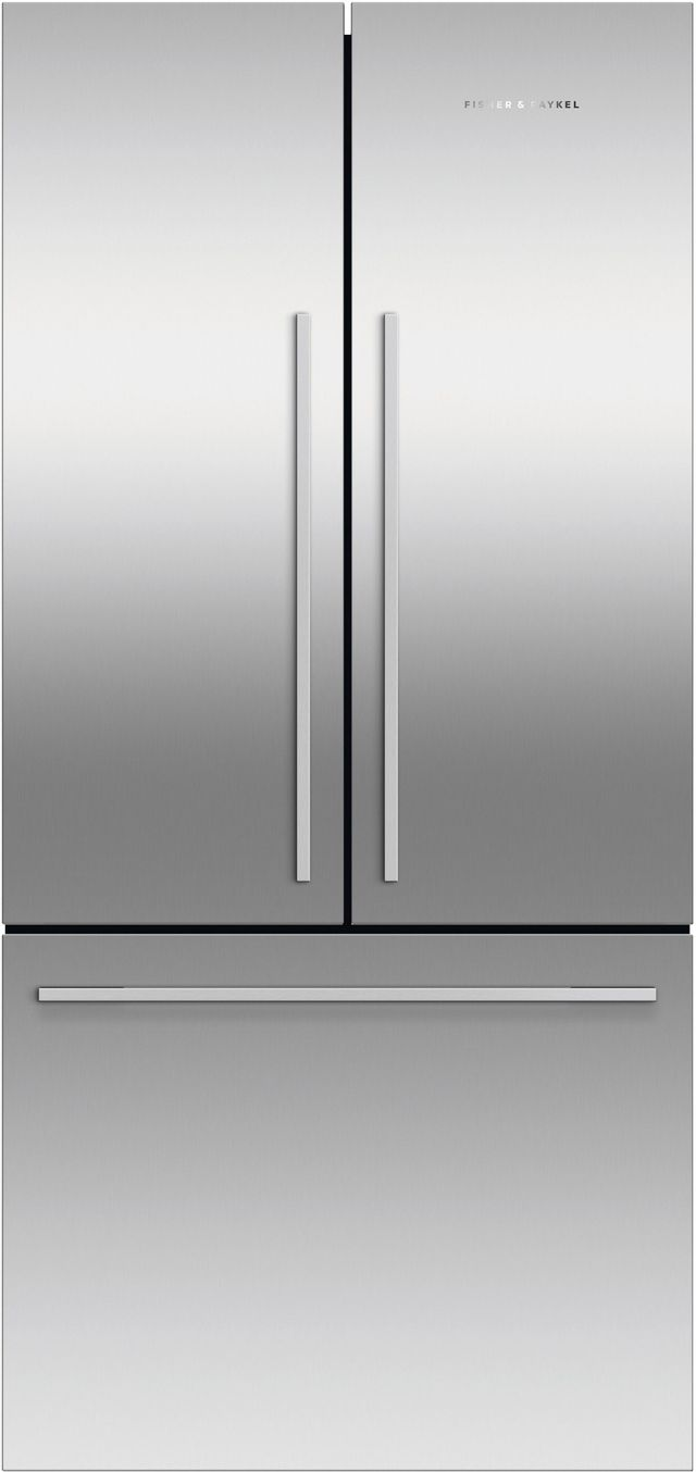 Fisher & Paykel Series 7 16.9 Cu. Ft. Stainless Steel Counter Depth French Door Refrigerator-RF170ADX4 N