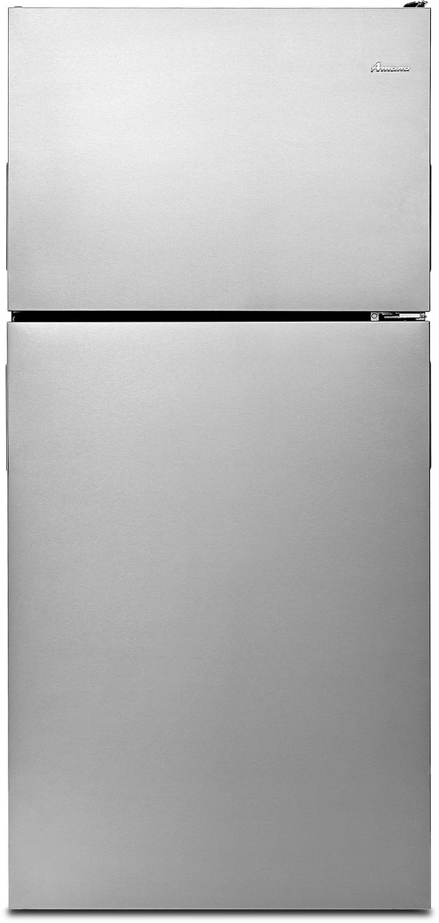 Réfrigérateur à congélateur supérieur de 30 po Amana® de 18,2 pi³ - Acier inoxydable-ART318FFDS