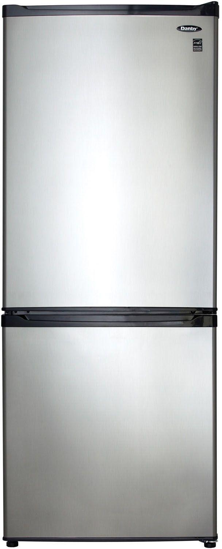 Danby® 9.20 Cu. Ft. Bottom Freezer Refrigerator-Stainless Steel-DFF092C1BSLDB