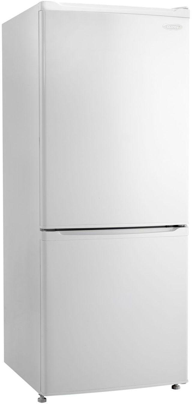 Danby® 9.2 Cu. Ft. Bottom Freezer Refrigerator-White-DFF092C1WDB