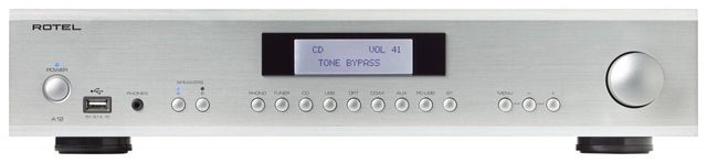 Rotel® Stereo Integrated Amplifier-Silver-A12-SV
