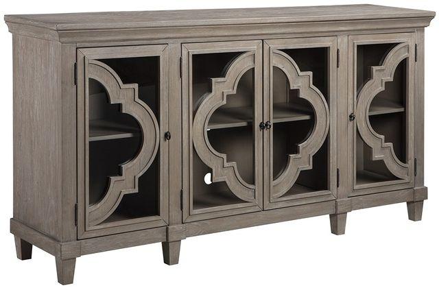 Signature Design by Ashley® Fossil Ridge Gray Accent Cabinet-A4000037