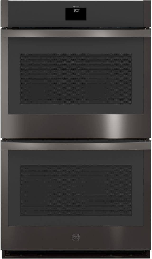 """GE® 30"""" Black Stainless Steel Electric Double Oven Built In-JTD5000BNTS"""