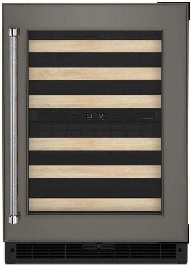 """KitchenAid® 24"""" Panel Ready Wine Cooler-KUWR214KPA"""
