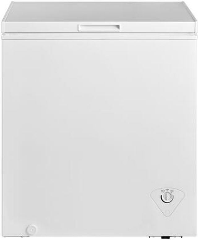 Midea 5.0 Cu. Ft. White Chest Freezer-MRC05M4AWW