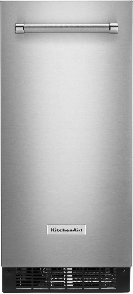 "KitchenAid® 14.70"" Stainless Steel with PrintShield™ Finish Automatic Ice Maker-KUIX335HPS"