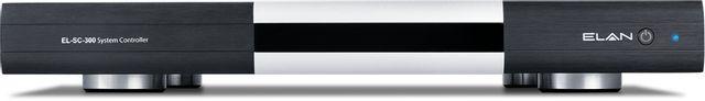 Elan® Black System Controller with Z-Wave-EL-SC-300-ZW