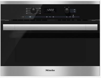 Miele DirectSelect Series Built In Microwave-Stainless Steel-M6160TC-12-1912