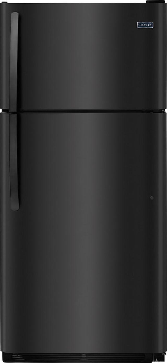 Crosley® 18.18 Cu. Ft. Black Top Mount Refrigerator-CRD1822NB