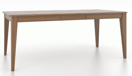Table à manger rectangulaire Gourmet Canadel®-TRE03860-VE-1