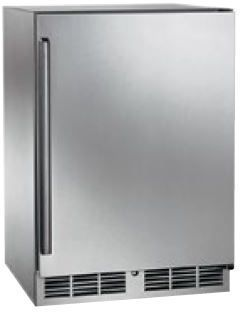 Perlick Signature Series 5.2 Cu. Ft. Outdoor Refrigerator-Wood Overlay-HP24RO-2L