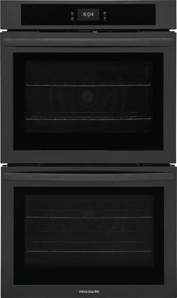 """Frigidaire® 30"""" Black Double Electric Wall Oven-FCWD3027AB"""