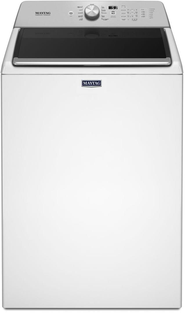Maytag® 4.7 Cu. Ft. White Top Load Washer-MVWB766FW