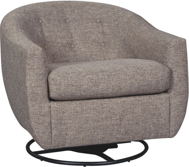 Signature Design by Ashley® Upshur Taupe Swivel Glider Accent Chair-A3000003
