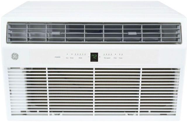 GE® 14,000 BTU's White Thru the Wall Built In Air Conditioner-AKEQ14DCH