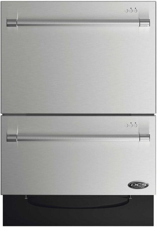 "DCS 24"" Double DishDrawer™ Series Drawer Dishwasher-Stainless Steel-DD24DV2T7"