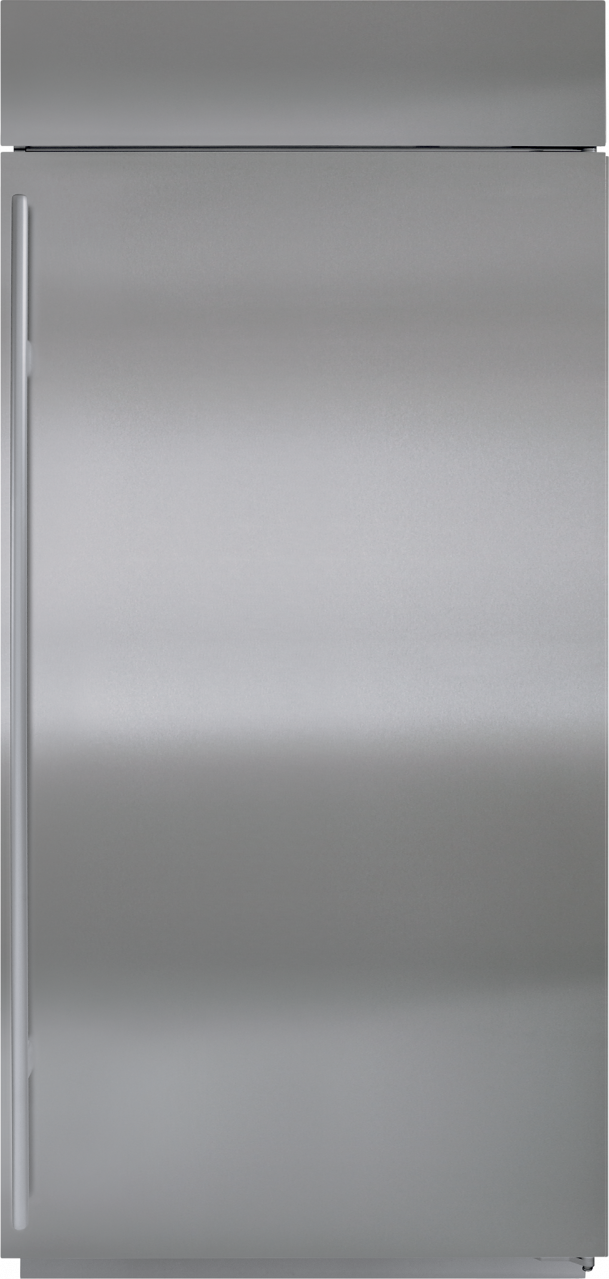 Sub-Zero® 22.6 Cu. Ft. Overlay Built In Upright Freezer-BI-36F/O-LH