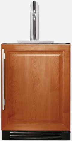 """True® 24"""" Panel Ready Beer Cooler/Kegerator-TUR-24BD-R-OP-B"""