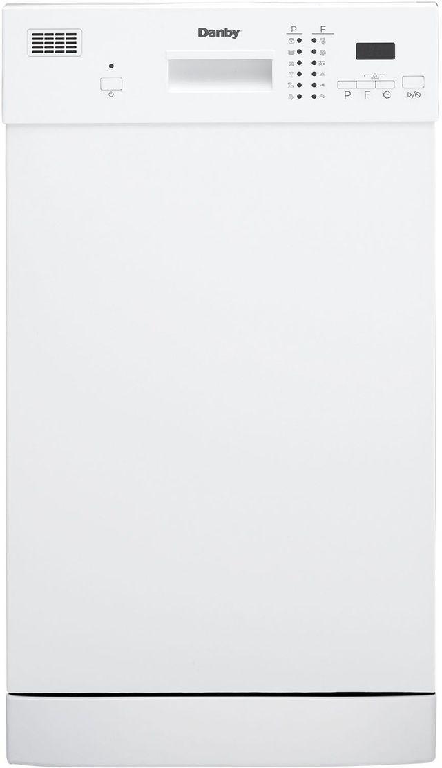 "Danby® 18"" White Built In Dishwasher-DDW1804EW"