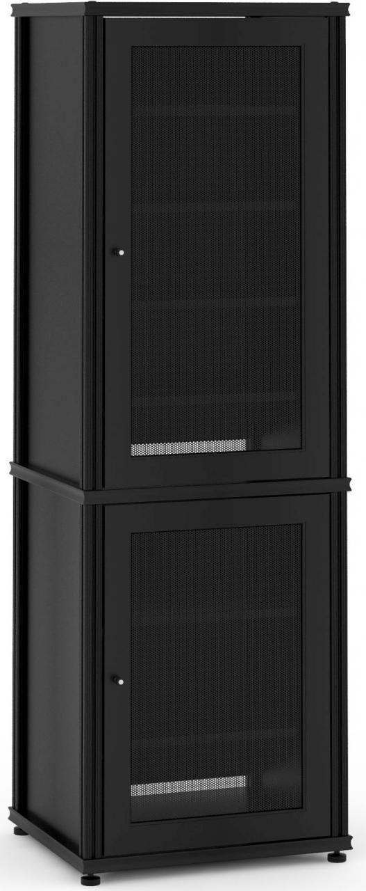 Salamander Designs® Synergy Model 703 AV Cabinet-Black-703B/B
