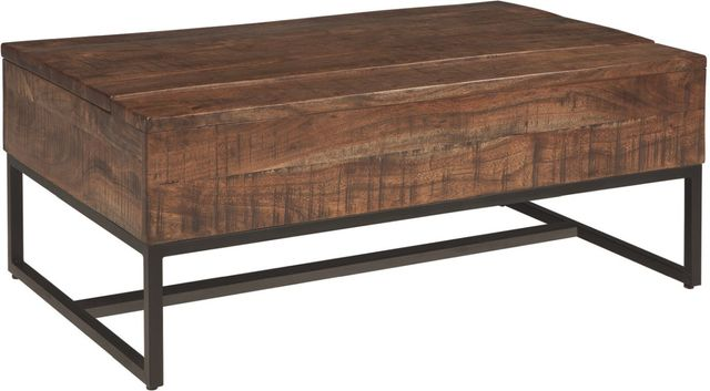 Signature Design by Ashley® Hirvanton Warm Brown Lift Top Coffee Table-T842-9