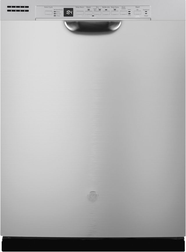 """GE® 24"""" Stainless Steel Built-In Dishwasher-GDF630PSMSS"""