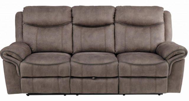 Aram Double Reclining Sofa-8206NF-3