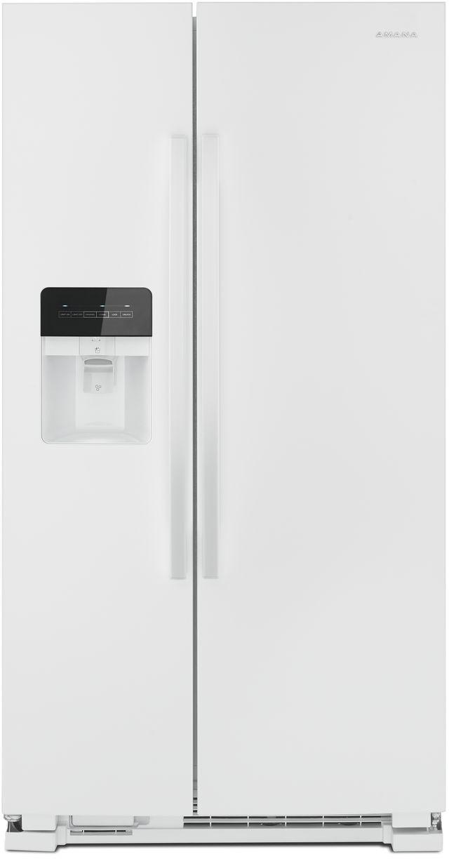 Réfrigérateur côte-à-côte de 33 po Amana® de 21,4 pi³ - Blanc-ASI2175GRW