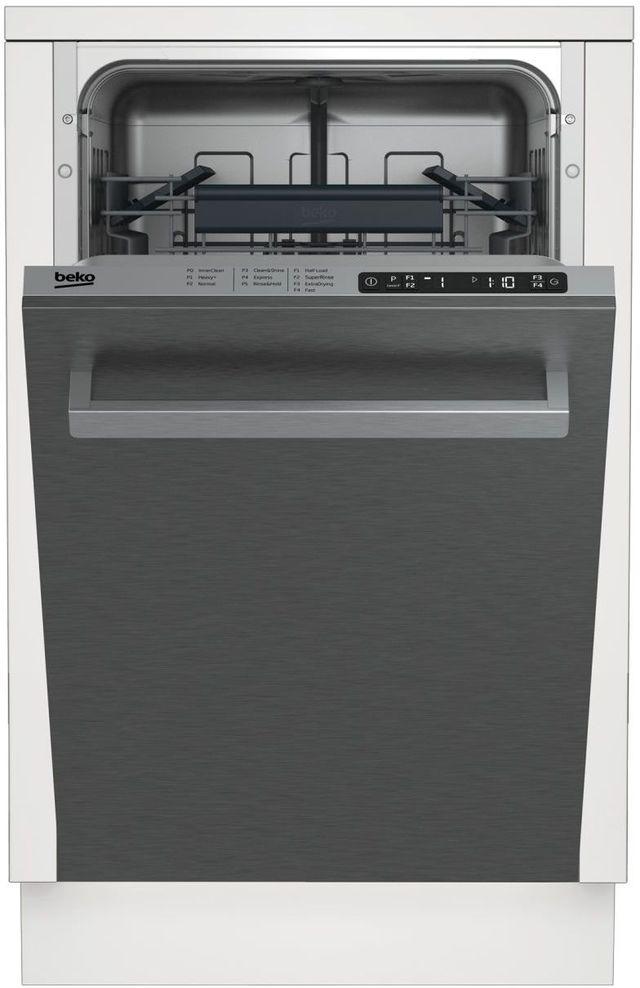 "Beko 18"" Stainless Steel Built In Dishwasher-DDS25840X"
