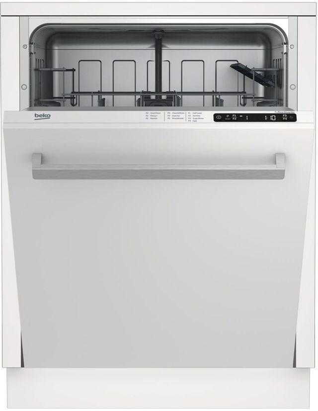 """Beko 24"""" White Built In Dishwasher-DDT25400W"""