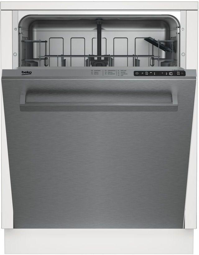 """Beko 24"""" Stainless Steel Built In Dishwasher-DDT25400X"""