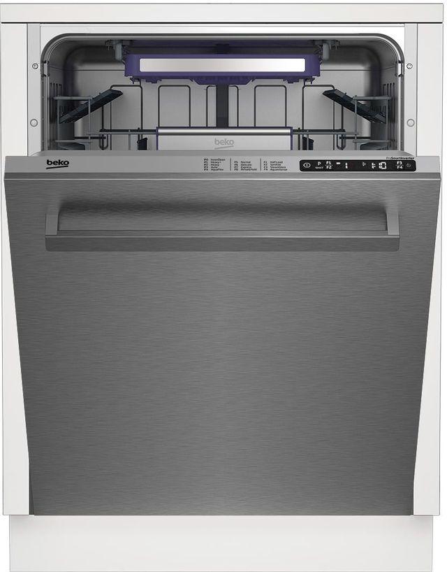 """Beko 24"""" Stainless Steel Built In Dishwasher-DDT28410X"""