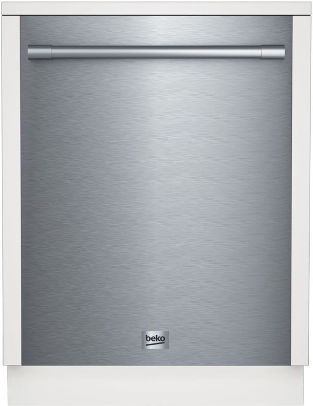 """Beck 24"""" Stainless Steel Built In Dishwasher-DDT28430XP"""