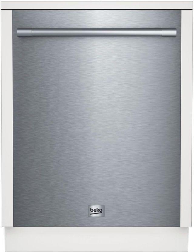 "Beko 24"" Stainless Steel Built In Dishwasher-DDT29430XP"