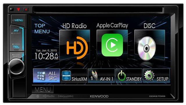 Kenwood 2-DIN Monitor Receiver-DDX6702S